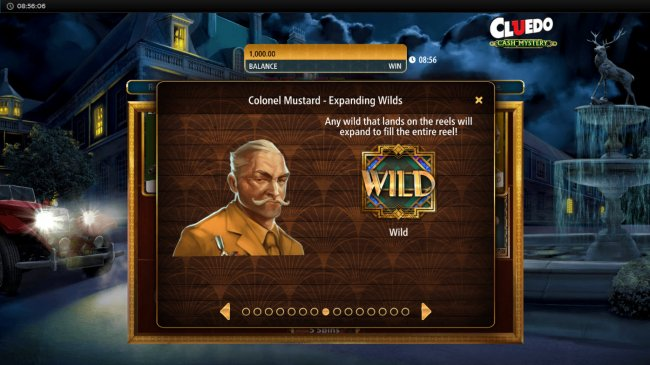 Colonel Mustard Expanding Wilds by Free Slots 247