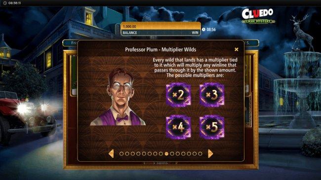 Professor Plum Multiplier Wilds - Free Slots 247