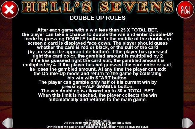 Hell's Sevens screenshot