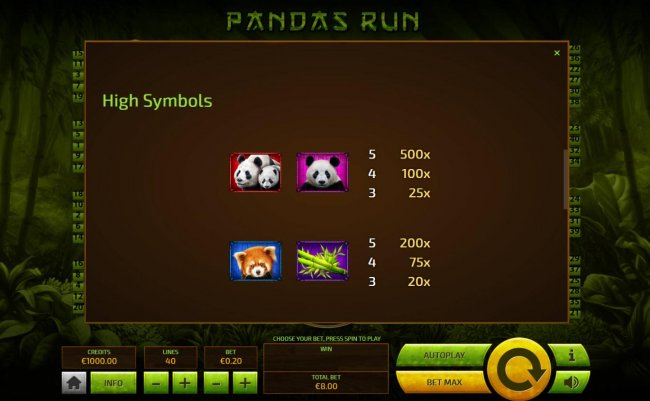 Images of Pandas Run