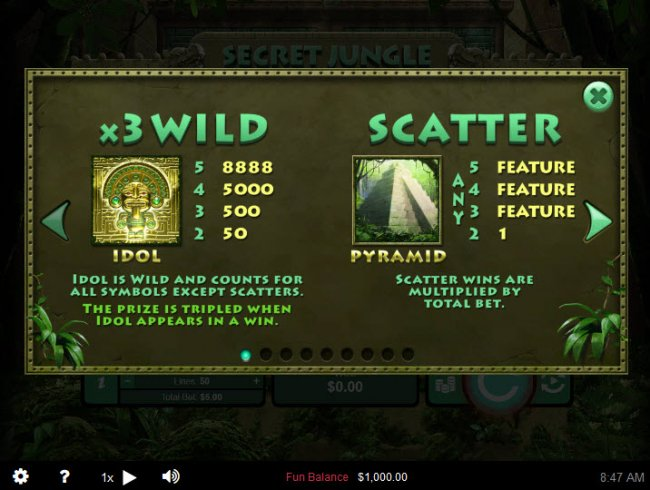 Secret Jungle by Free Slots 247