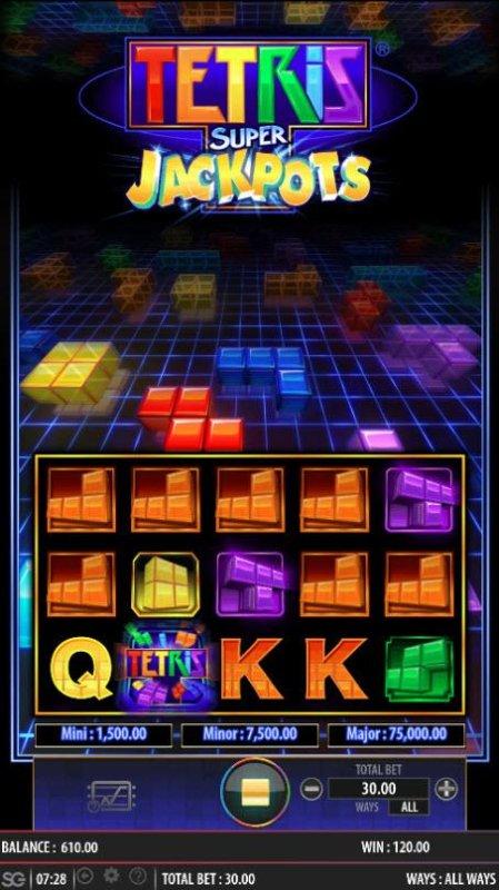 Tetris Super Jackpots screenshot