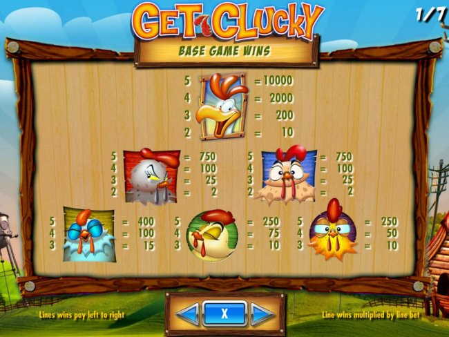 Free Slots 247 image of Get Clucky