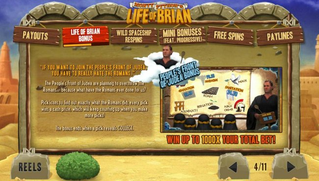 Free Slots 247 image of Monty Python's Life of Brian