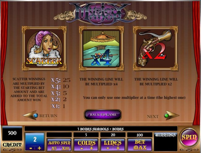 Free Slots 247 image of Mystery Manor