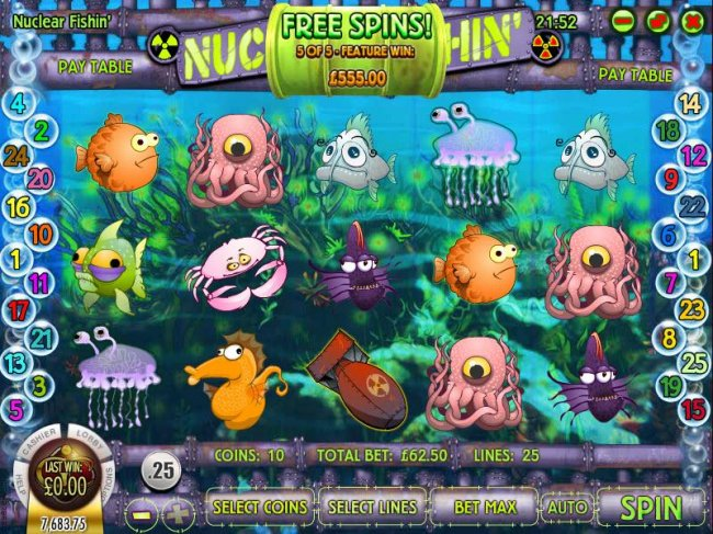 Nuclear Fishin' by Free Slots 247