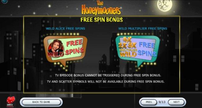 Free Spins Bonus Options - Free Slots 247