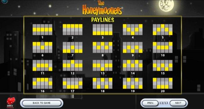 Free Slots 247 - Paylines 1-20