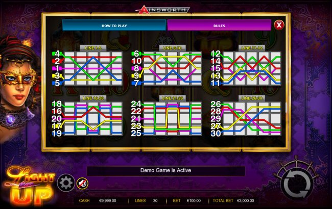 Free Slots 247 - Paylines 1-30