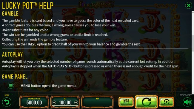 Lucky Pot by Free Slots 247