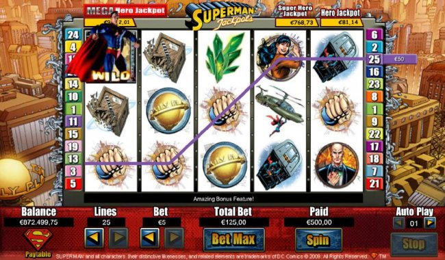 Superman Jackpots screenshot