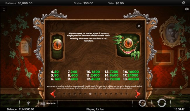 Free Slots 247 image of The Curious Cabinet