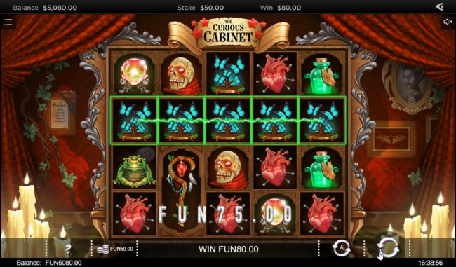 The Curious Cabinet by Free Slots 247