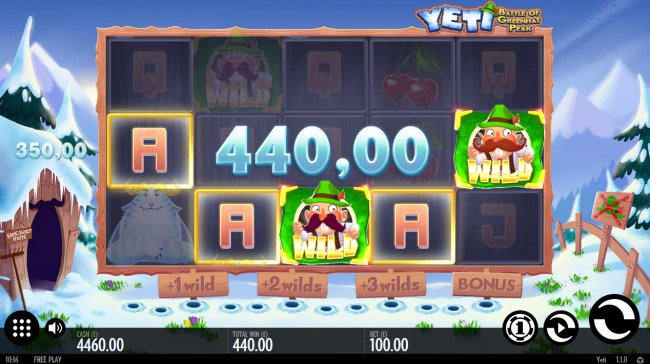 Yeti Battle of Greenhat Park by Free Slots 247