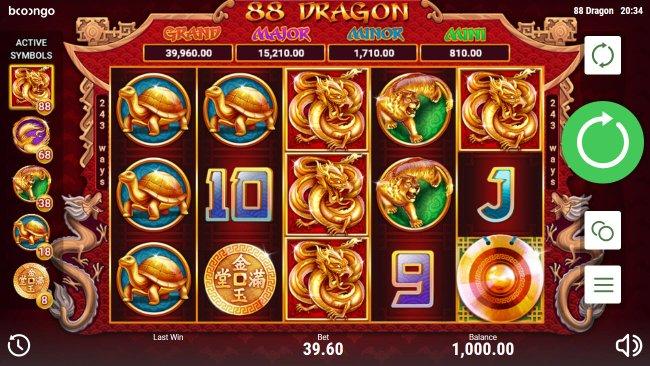 88 Dragon by Free Slots 247