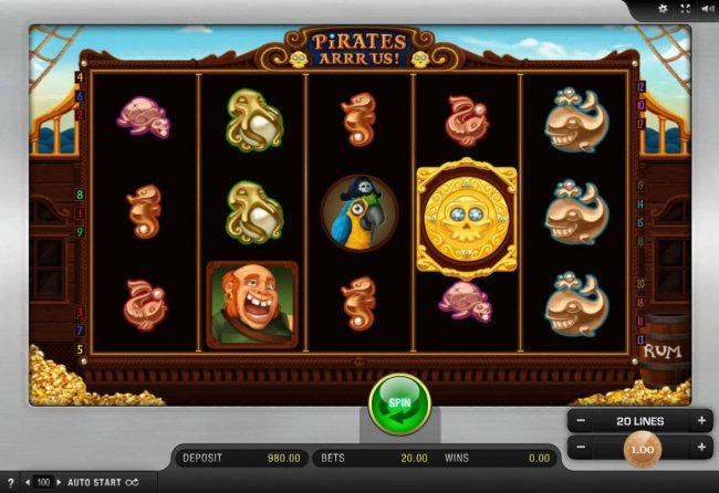 Pirates Arrr Us! screenshot