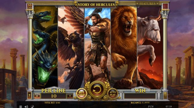 Free Slots 247 image of Story of Hercules