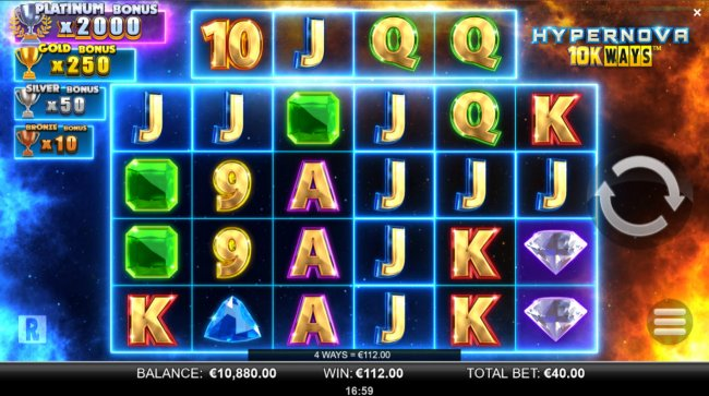 A six of a kind win - Free Slots 247