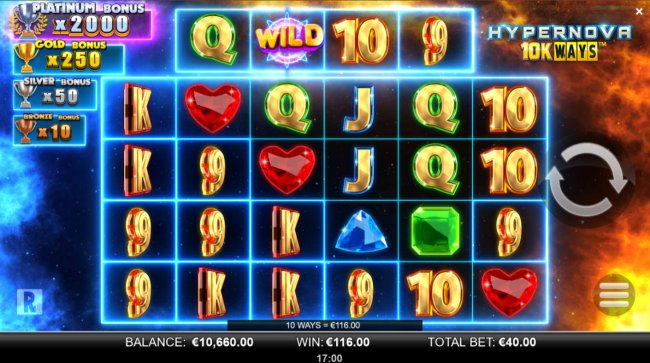 Multiple winning combinations by Free Slots 247