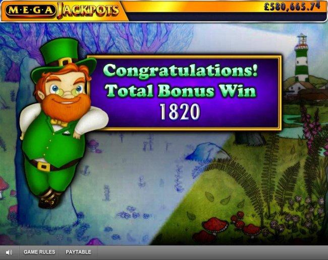 Total Bonus Win 1820 by Free Slots 247