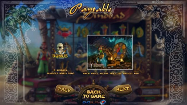 Free Slots 247 image of Sindbad
