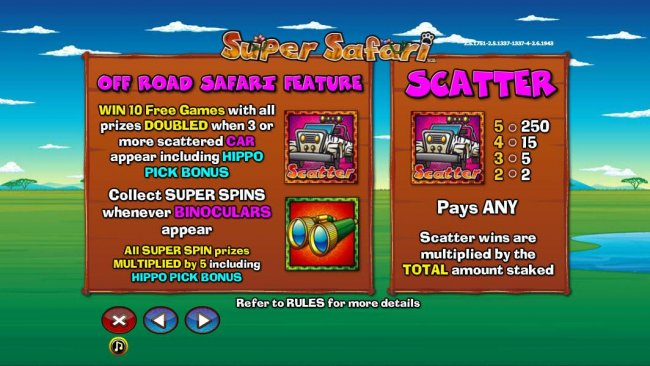 Super Safari by Free Slots 247