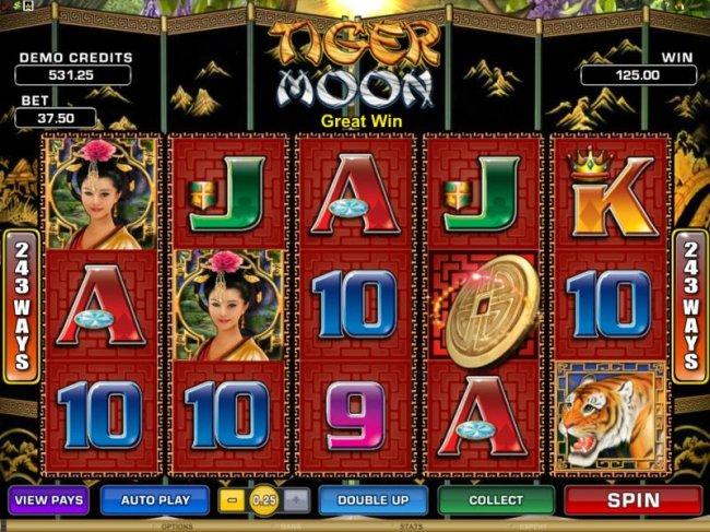 Free Slots 247 image of Tiger Moon