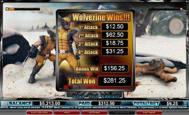 Free Slots 247 image of Wolverine