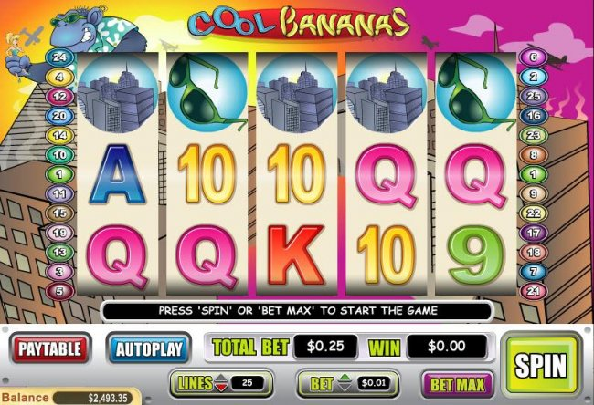 Free Slots 247 image of Cool Bananas