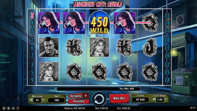 Midnight City Rivals by Free Slots 247