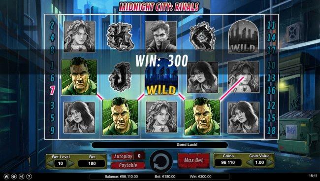 Free Slots 247 image of Midnight City Rivals
