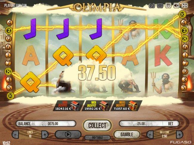 Olympia screenshot