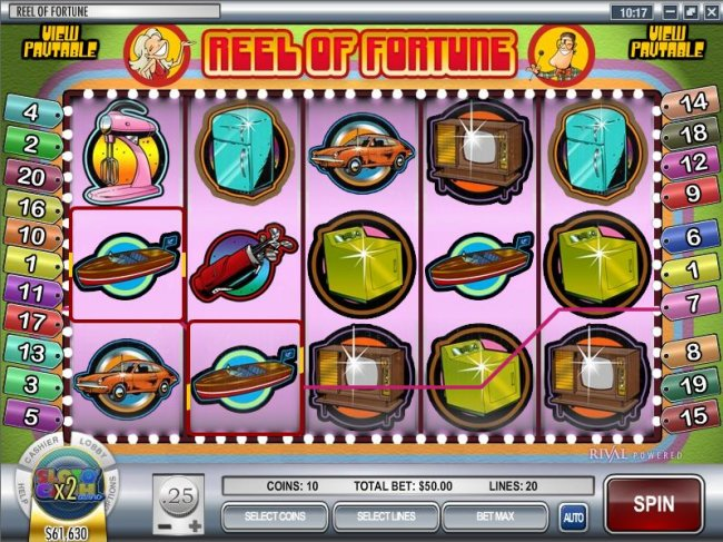 Reel of Fortune by Free Slots 247