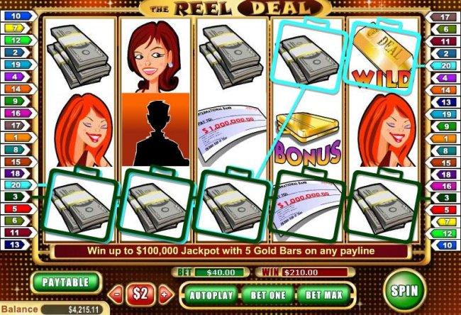 The Reel Deal screenshot