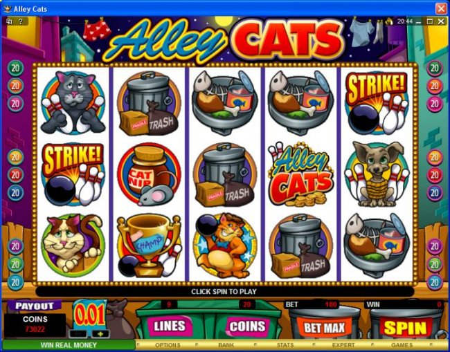 Alley Cats by Free Slots 247