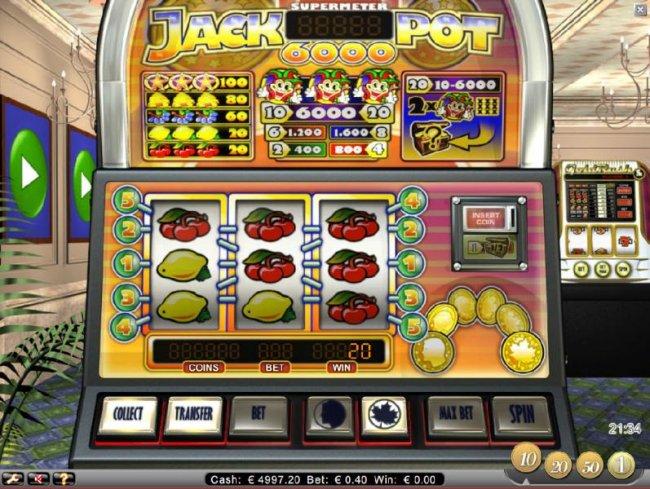 Jackpot 6000 by Free Slots 247