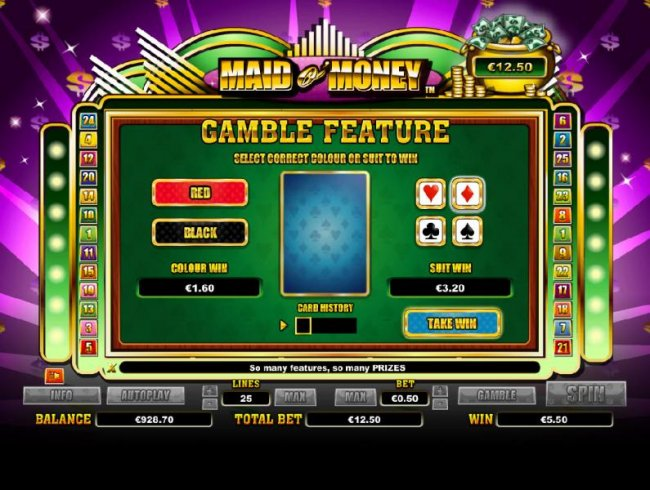 gamble feature game board - Free Slots 247