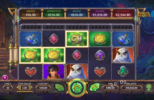 Ozwin's Jackpots by Free Slots 247