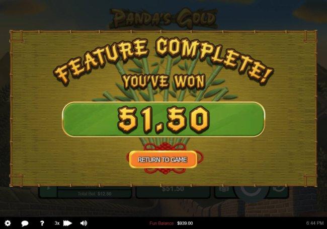 Free Slots 247 image of Panda's Gold