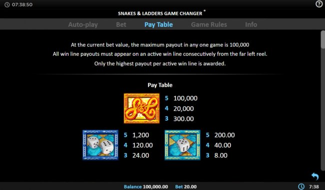 Free Slots 247 image of Snakes & Ladders Game Changer