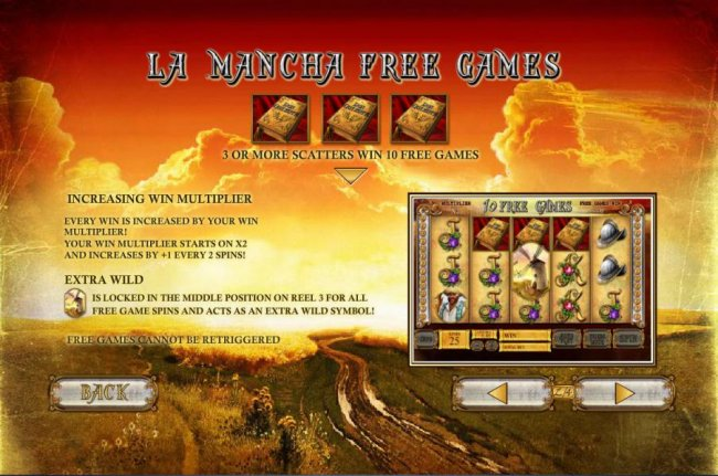 The Riches of Don Quixote by Free Slots 247