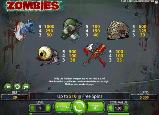 Free Slots 247 image of Zombies