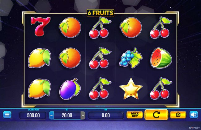 6 Fruits by Free Slots 247