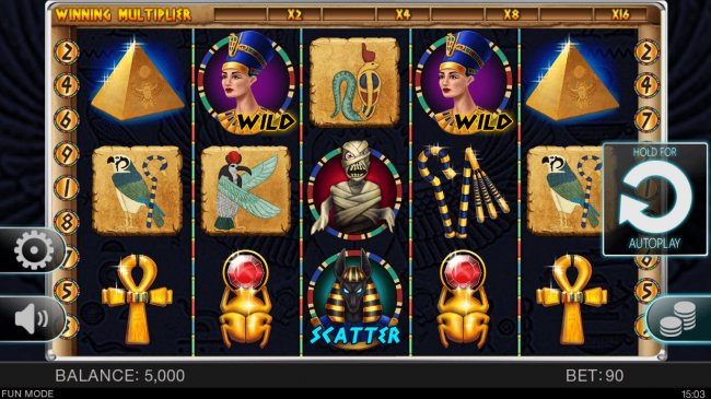 Egyptian Adventure by Free Slots 247