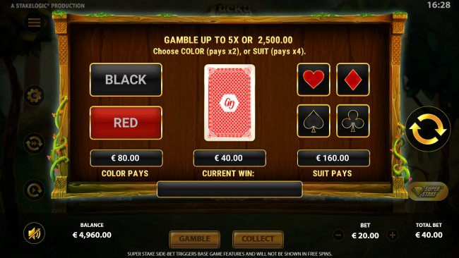 Gamble feature - Free Slots 247