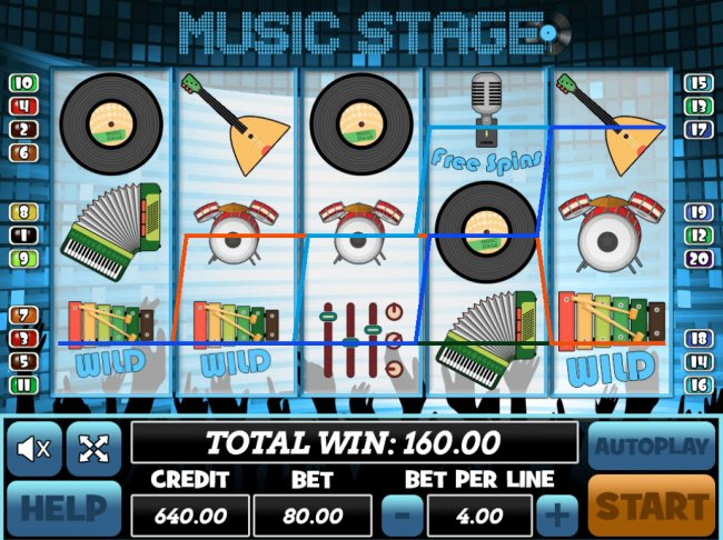 Free Slots 247 image of Music Stage
