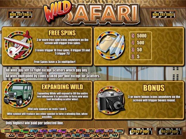 Free Slots 247 image of Wild Safari