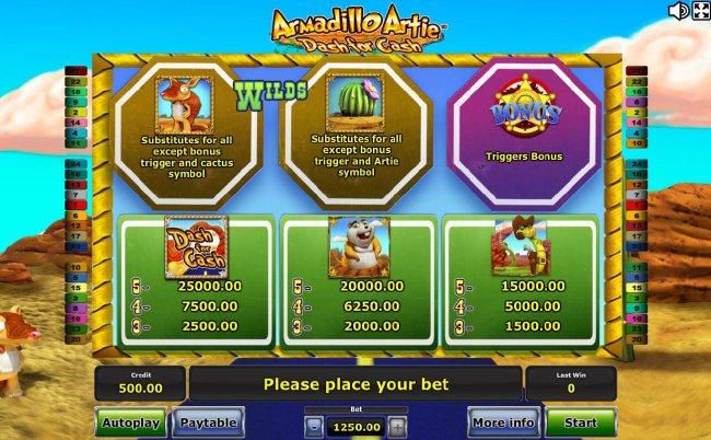 Free Slots 247 - High value slot game symbols paytable
