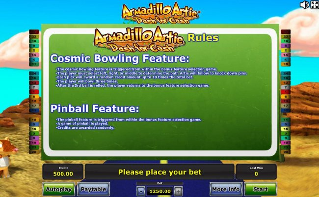 Free Slots 247 - Cosmic Bowling Feature and Pinball Feature Rules