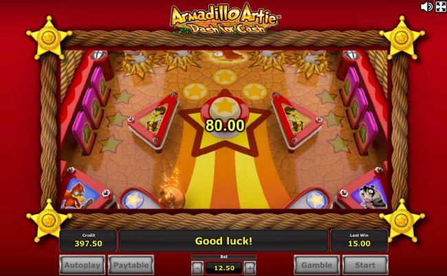 Armadillo Artie Dash for Cash by Free Slots 247